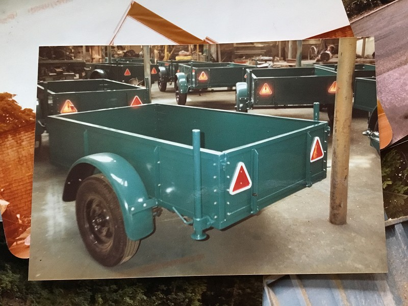 Early batch of builder trailers